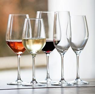 Zwiesel: Glas-Serie Vina